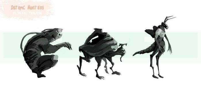 Distopic monsters by innae-pyo