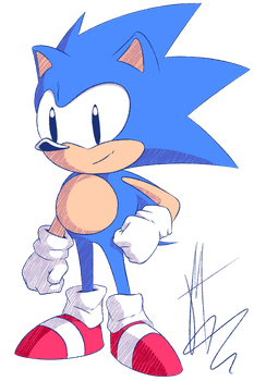 Random - Sonic the Hedgehog by Pixelated-Dude
