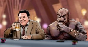 When Norm Met Morn by Loneanimator