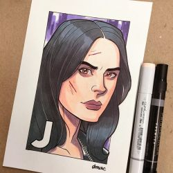 J is for Jessica Jones by D-MAC
