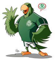 Palmeiras mascot by caiomajado