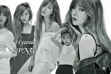 Hyuna PNG Pack {NYLON} by kamjong-kai