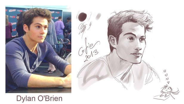 Stiles Stilinski - Dylan O'Brien by Cofie