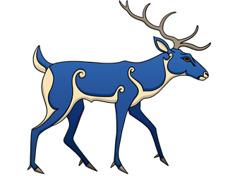 Pictish Stag by Hareguizer