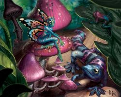 Tropical Fairy by CBSorgeArtworks