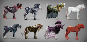 Sci-fi Horse Armor Concepts by Eden-West