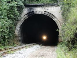 Light in the 28th tunnel by Alexandre-ue