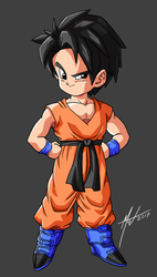 What Ifs - Gohan (Kid) by SaTTaR