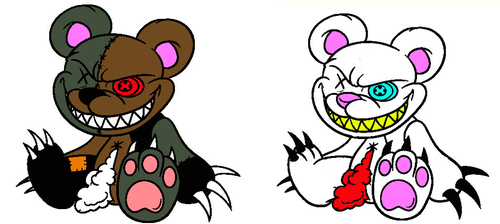Possesed Demon Teddy Bear Adoptables (CLOSED)