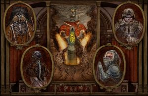 The Four Horsemen by Keithwormwood