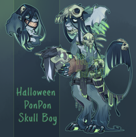 Skull [adopt] - SOLD by MLarty