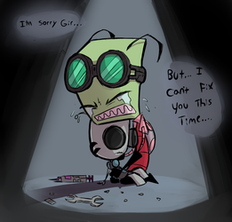 An Invader Needs No one by Skeleion
