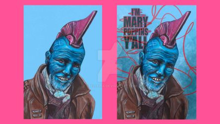 Yondu Udonta (Before and After) by spelleria