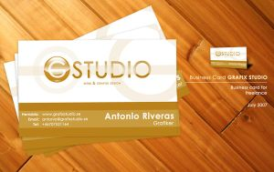 GRAFIX STUDIO Business Card by TonioSite
