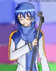 Vocaloide Kaito by natyyy
