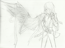 A Winged Angel (Re-make) by Demon-Shinob1
