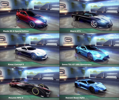 New cars coming by GamePonySly