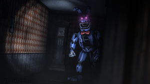 Nightmare Bonnie (SFM) by gold94chica