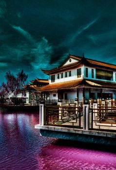 Unreal Chinese Garden by limecity