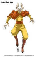 Avatar State Aang by iq40