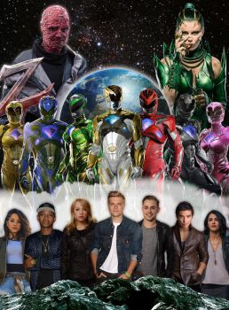 Power Rangers Cast Movie 2017 by Wushong