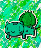 KAWAIIDEX: 001 - Bulbasaur by Draareg