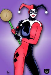 Harley Quinn by the Moocat by Groovygoddess