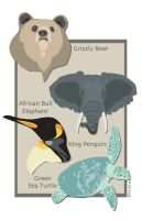 Vector Animals by shane613