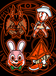 Silent Hill Charms by Versiris