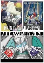 Auto Assembly 2012 Prints Preview! by palmaay