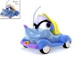 Suzie, the Little Blue Coupe by tombernard