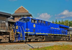 Blue Deuce! Norfolk and Western Heritage 8103 by CSX5344