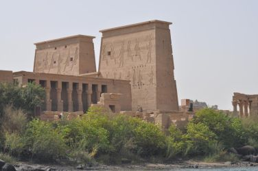 The Temple of Philae by Shadamachaeon