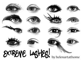 Extreme Lashes! by Helenartathome