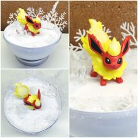 PBT Collage - Flareon Winter by TheVintageRealm