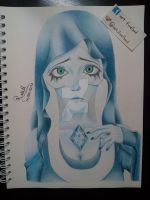 Blue Diamond from Steven Universe by Art-FireSoul
