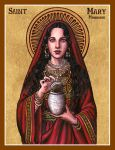 St. Mary Magdalene icon by Theophilia