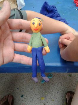 Baldi playdoh model by LuigiHorror64