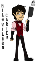 DST: Milo Wilson Carter by Aileen-Rose