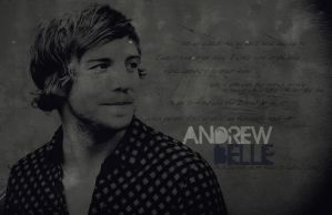 Wallpaper - Andrew Belle by Doctor-Pencil