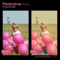 Photoshop Action - Color 025 by primaluce