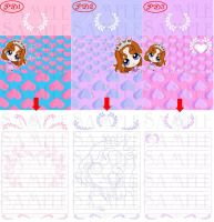 Princess Dorable Stationary by clrkrex
