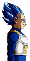 Dragon Ball Super - Vegeta New Form by VictorMontecinos