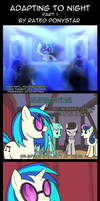 Adapting To Night: Prologue - Part 1 by Rated-R-PonyStar