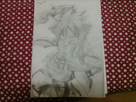 Luffy Z movie drawing and it took me 3 freaking ou by Astrixsonic14