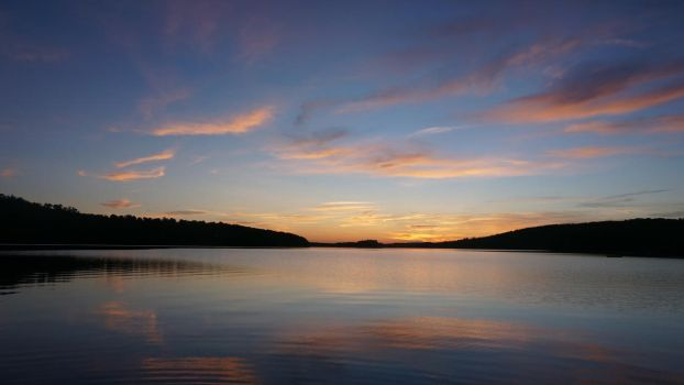 Maine Sunset 1 by NoxieStock