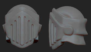 Mini Knight - 3D Helmet by Dmeville