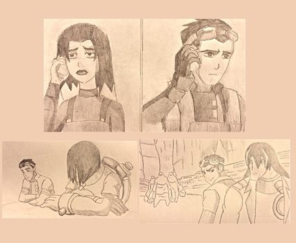 Generator Rex Sketches by futuremoon