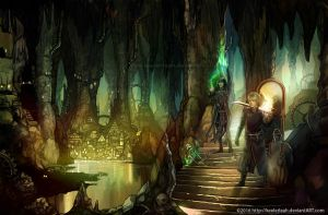 Cavern of Mirrors by keelerleah