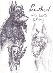 Eternity- A Story of Forgiveness (Burkhart Sketch) by The-Heraldic-Sword